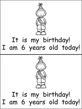 My Birthday- Nonfiction Leveled Reader- Level C Kindergarten