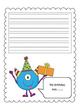 My Birthday Was...