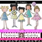 My Birthday clip art 2018 - FREEBIE - by Melonheadz