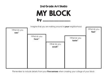 My Block Planning Sheet