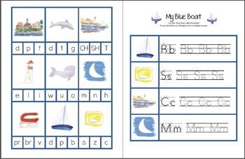 My Blue Boat Printable Pack