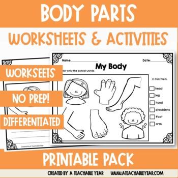 My Body - Vocabulary Pack