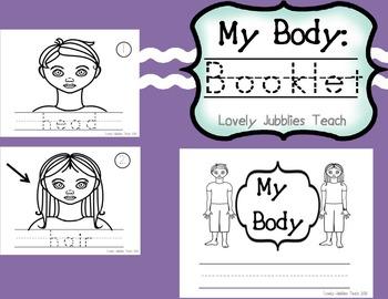 My Body: Booklet