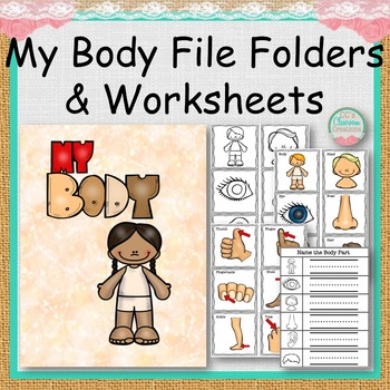 My Body File Folders and Worksheets