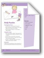 My Body Parts: Center Activity
