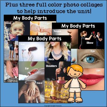 My Body Parts Mini Book for Early Readers
