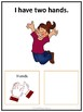 Adapted Task Card Book for Pre-K and KG_My Body Parts