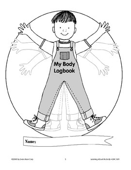 My Body: Using a Logbook/Body Puzzle