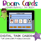 Learn Swahili | My Body BOOM Cards Learning