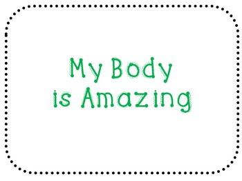 My Body is Amazing book