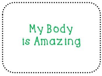 My Body is Amazing book