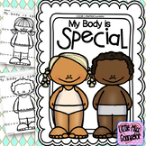 My Body is Special Mini Lesson with Fine Motor Activity for Early Childhood