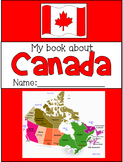 My Book About Canada - FREE 8-page Symbols of Canada Booklet