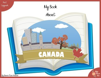 My Book About Canada with Print Copywork