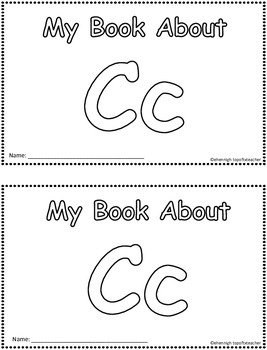 My Book About Cc     Little Emergent Reader
