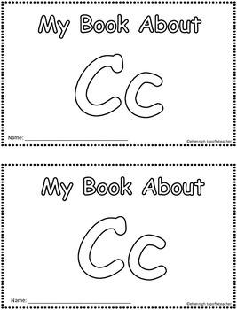 My Book About Cc     Little Emergent Reader
