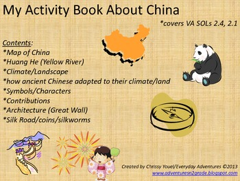 My Book About China