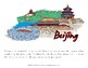 My Book About China with Print Copywork