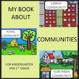My Book About Communities - Urban, Rural and Suburban