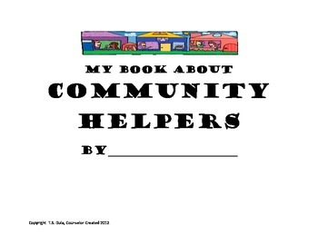 My Book About Community Helpers