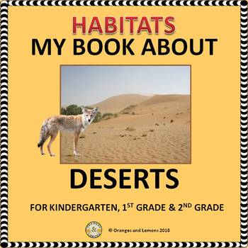 Habitats - My Book About Deserts