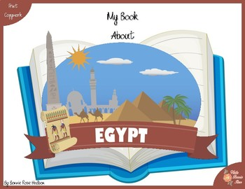 My Book About Egypt with Print Copywork