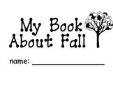 Kindergarten Emergent Reader - Sight Words, Begin Sounds, Fall