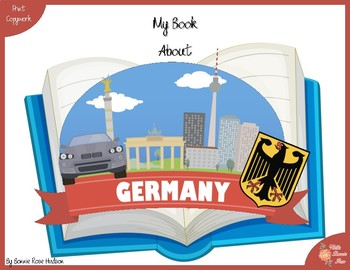 My Book About Germany with Print Copywork
