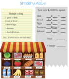 Grocery Workers Workbook