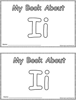 My Book About Ii     Little Emergent Reader