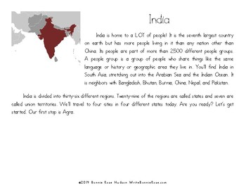 My Book About India