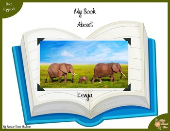 My Book About Kenya