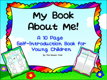 My Book About Me! A Self Introduction Book