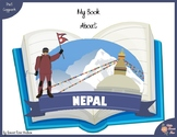 My Book About Nepal with Print Copywork