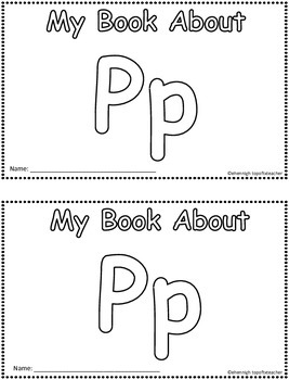 My Book About Pp    Little Emergent Reader FREEBIE!