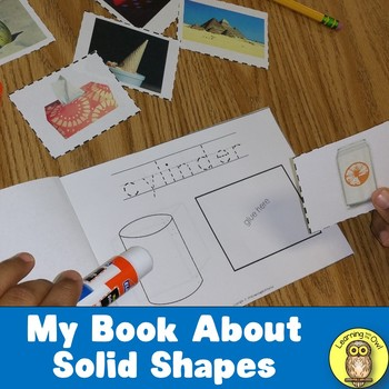 My Book About Solid Shapes 3-D Shapes