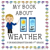 My Book About Weather, Wall Chart and Worksheets