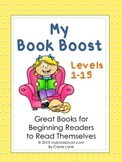 List of Easy Reading Books (Levels 1-15)
