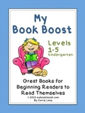 List of Easy Reading Books (Levels 1-5)