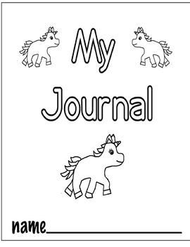 My Book Covers - 10 Different Cover Pages DIY Books (Black & White) PreK-K-1st