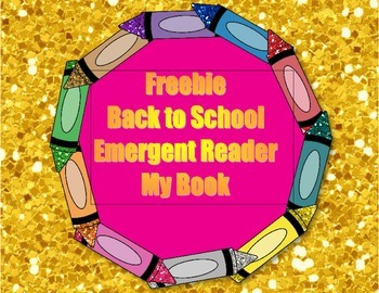 My Book Emergent Reader