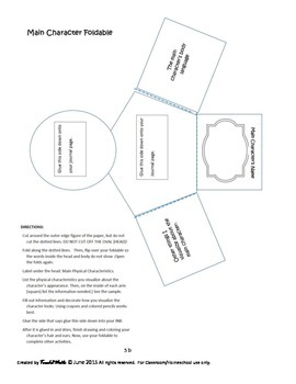 My Book, My Choice: Interactive Notebook Actitivities for Reading Fiction Books