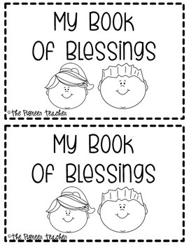 My Book Of Blessings {Black and White}