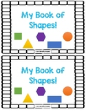 My Book Of Shapes- Emergent Reader