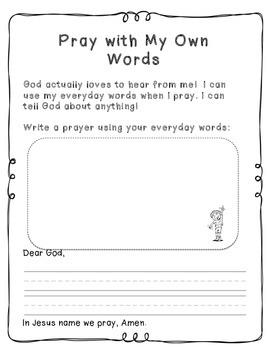 My Book about Prayers