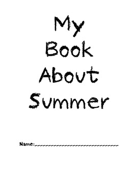 My Book about Summer