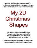 My Book of 2D Christmas Shapes