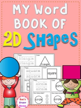 SHAPES: My Word Book of 2D Shapes