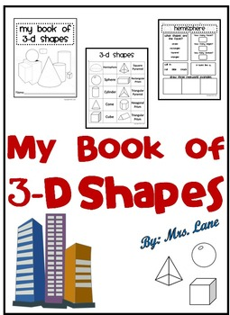My Book of 3-D Shapes