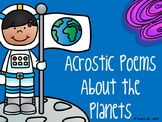 My Book of Acrostic Poems about the Planets